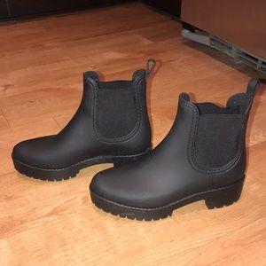 Jeffrey Campbell Platform Black Matte Boots